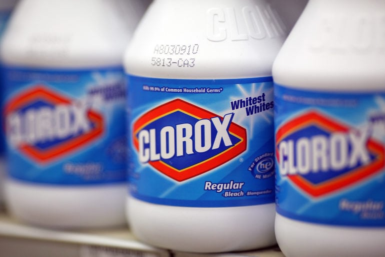 Clorox Co Shares Jump, After Investor Ichahn Reports Stake In Company